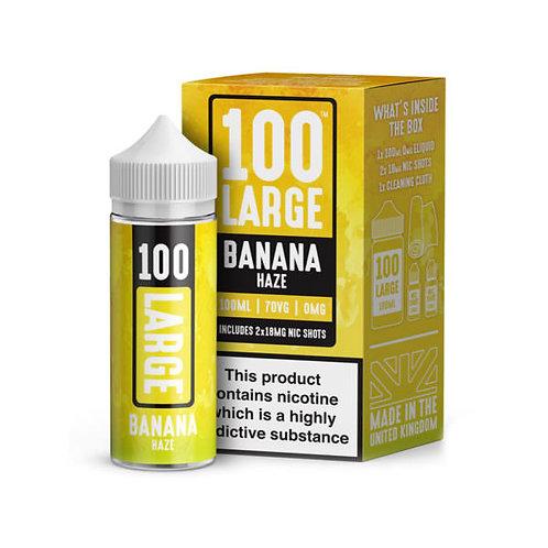 Banana Haze - 100ml 100 Large