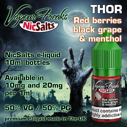 Thor - 10ml Salt Vapour Freaks