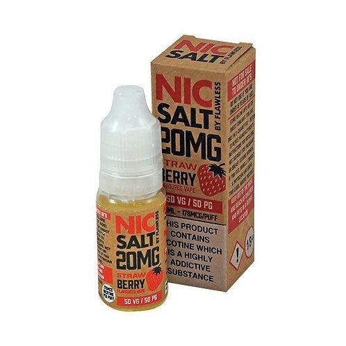 Strawberry Nic Salt - 10ml Flawless 10/20mg