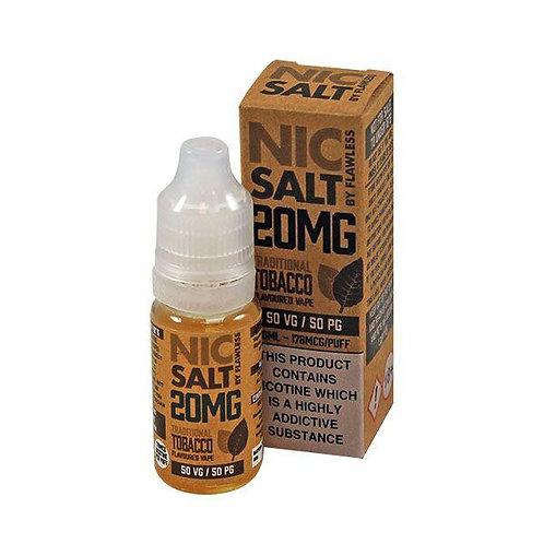 Traditional Tobacco - 20mg 10ml Nic Salt