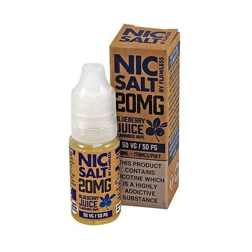 Blueberry Juice - 20mg 10ml Nic Salt