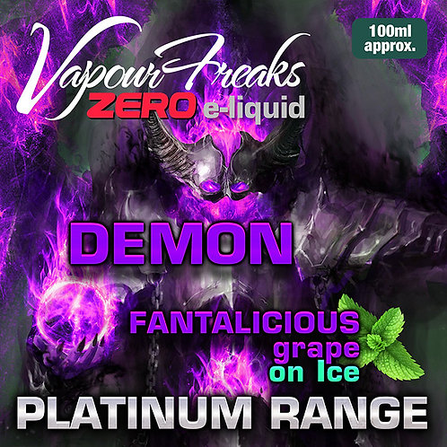 Demon On Ice - 100ml Vapour Freaks