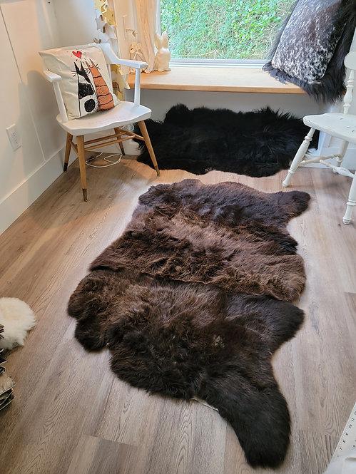 Nat made #3 Triple British Sheepskin Rug