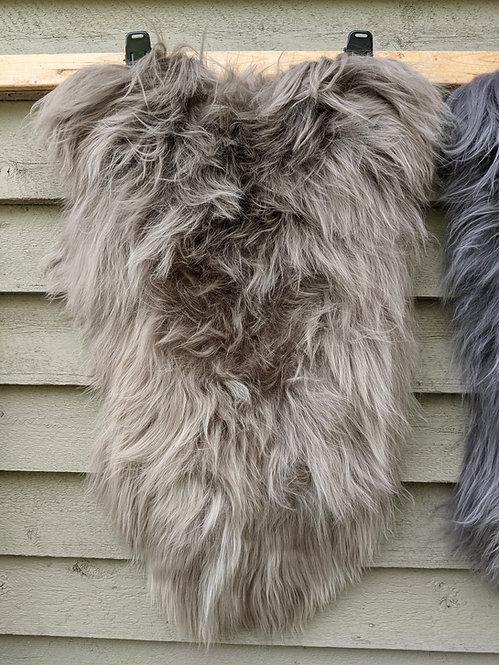 'Light Pebble' gorgeous Icelandic Sheepskin