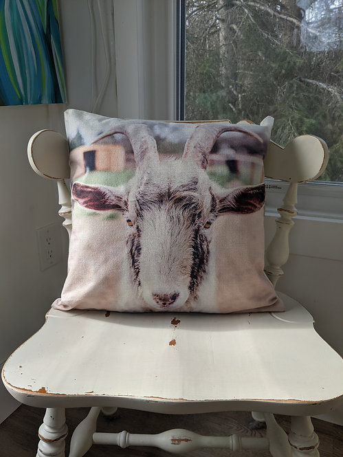 The Goat cushion cover