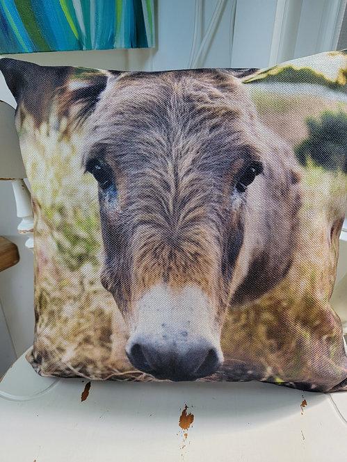 Donkey Cushion Cover