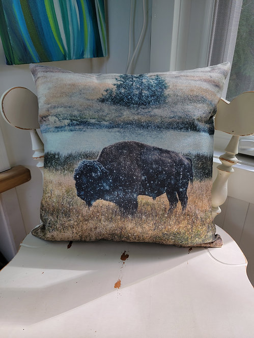 Bison Cushion Cover