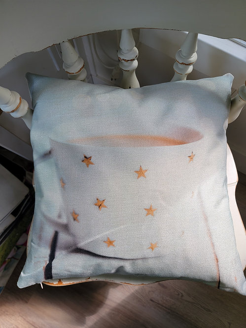 Cup of tea Cushion Cover