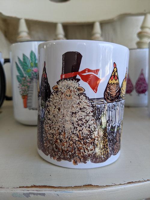 11 oz farm gangster mug *Add on item