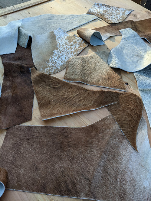 #9 1Kg Pack of Cowhide for crafting