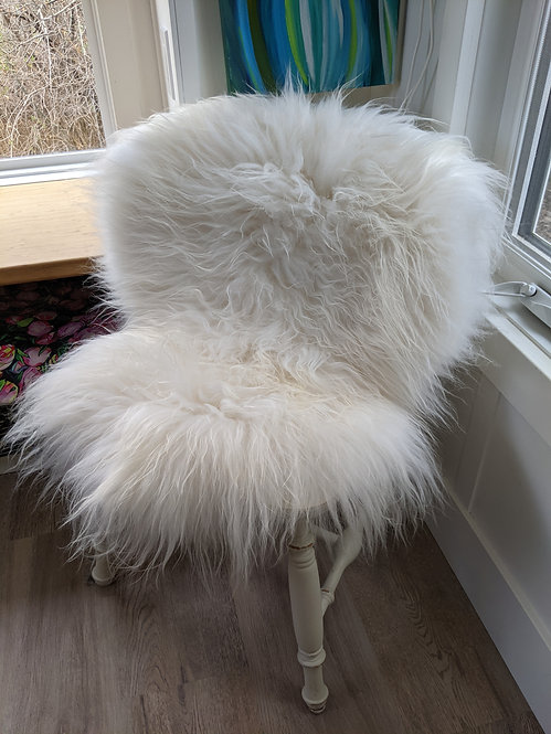 May#36 and May33 PAIR of Lovely icelandic sheepskins
