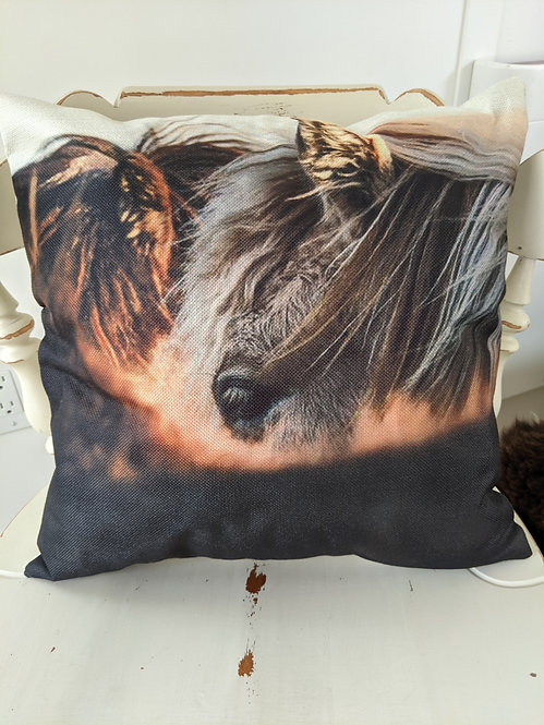 Ponies Cushion Cover