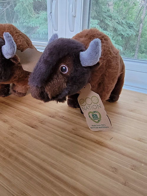 Eco friendly Bison plush *Add on item*