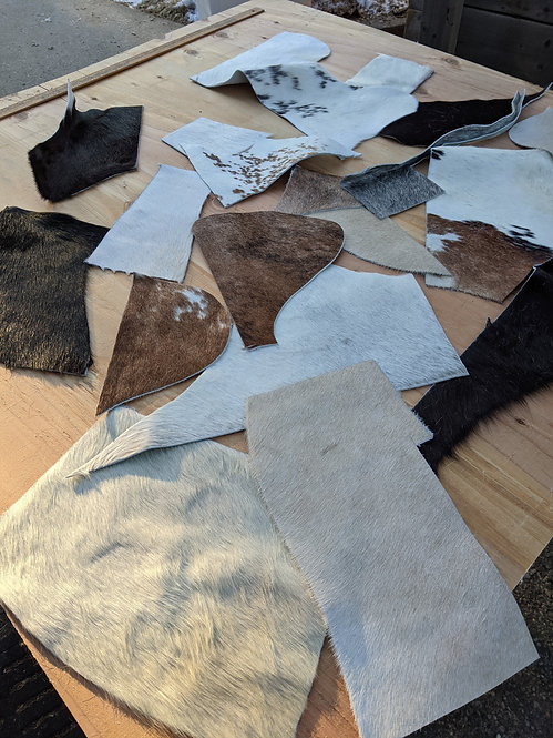 #4  1Kg Pack of Cowhide for crafting
