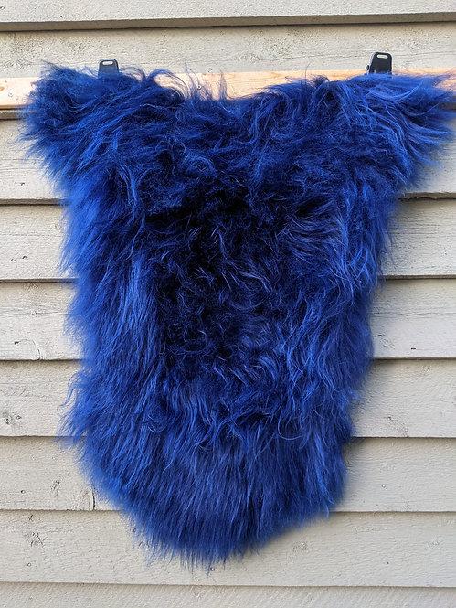 'Navy Blue' dyed Icelandic Sheepskin