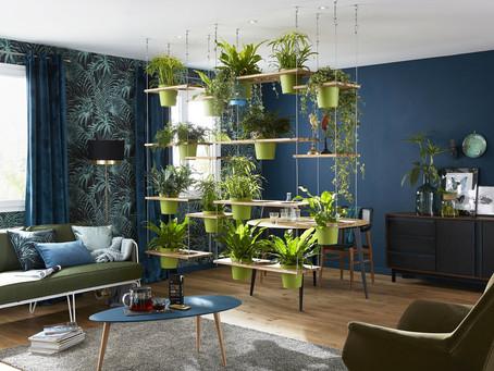 Faire entrer le végétal dans la maison avec originalité
