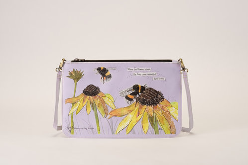 Gentle Giants Bumblebee Small Pochette in Spanish Lavender