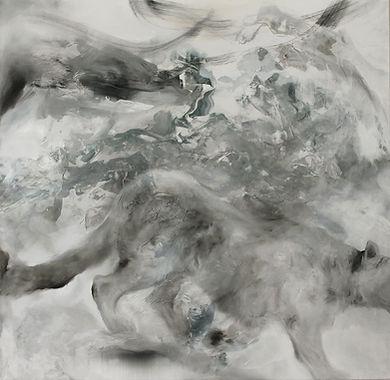 snow leopard, snow, mountains, art, animal art, lumileopardi, taide, maalaus, eläintaide