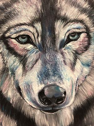 wolf, forest, soul, animal art, spirit animal, finland, art, oil color, lumi saarikoski, susi, voimaeläin, maalaus, taide, eläintaide