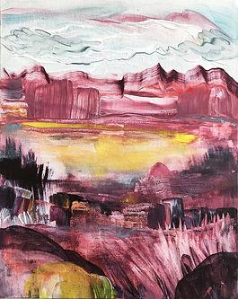 landscape, painting, art, abstract art, contemporary painting, maisema, maalaus, taide, sisustus, nykytaide