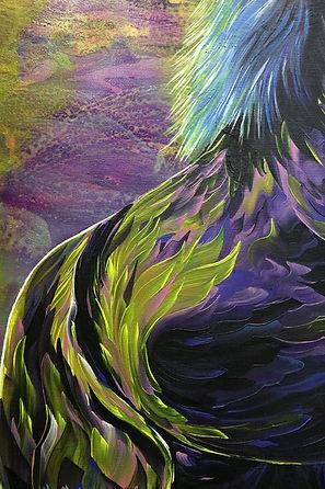 painting, detail, horse, mustang, art, yksityiskohta, maalaus, taide, nykytaide, hevonen