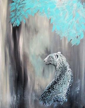 leopard, art, animal art, power animal, painting, leopardi, maalaus, taide, eläintaide
