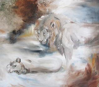 lions, lion, lion art, animal art, art, fine art, interior, leijona, leijonat, taide, maalaus, sisustus, eläintaide