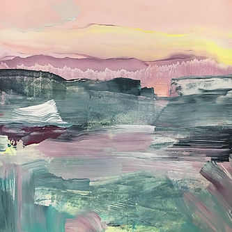 landscape, painting, art, abstract art, contemporary painting, maisema, maalaus, taide, sisustus, nykytaide