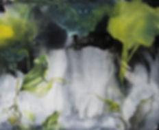 frog, frogs, art, animal art, forest, surreal, painting, sammakko, taide, metsä, maalaus