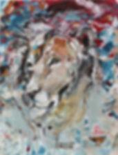 lion, painting, art, street art, animal art, leijona, taide, maalaus, eläintaide, nykytaide