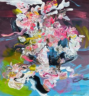 abstract art, painting, interior art, abstrakti, taide, maalaus, sisustus