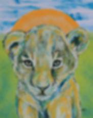 baby lion, lion cub, animal art, childrens room art, leijonan pentu, leijona, lastenhuoneen taide, eläintaide, sisustus