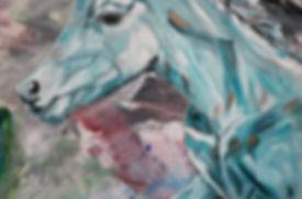 foal, horse, animal art, paiting, varsa, taide, maalaus, nykytaide