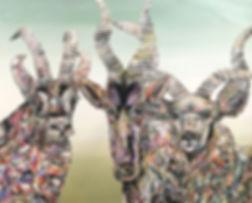 animal art, painting, art, contemporary painting, interior, eläintaide, maalaus, sisustus