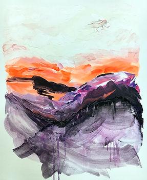 abstract art, painting, fine art, landscape, art, abstrakti taide, maalaus, taide, sisustus