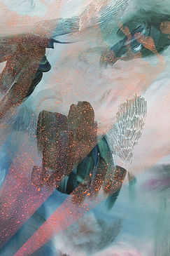 abstract art, colors, layers, art, painting, illustration, lumi saarikoski, abstrakti taide