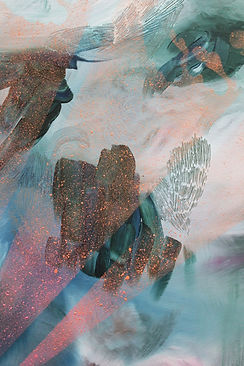 abstract art, colors, layers, art, painting, illustration, lumi saarikoski, abstrakti taide