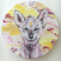 wolf, wolf cub, animal art, children's room art, art, lastenhuoneen taide eläintaide, susi, sudenpentu