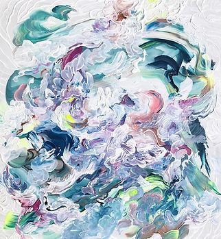 Abstract art, color, interior art, art, painting, abstrakti taide, maalaus