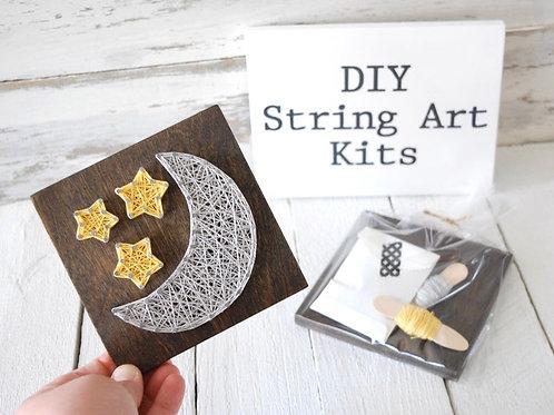 Crafternoon - String Art Kit