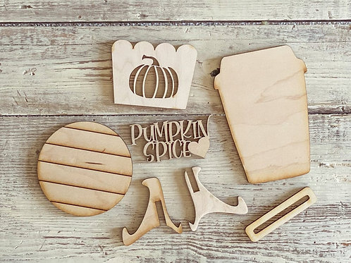 Crafternoon - Pumpkin Spice Paint Kit