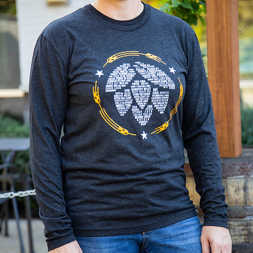 Hop Icon OHB Beers - Unisex Long Sleeve T Shirt