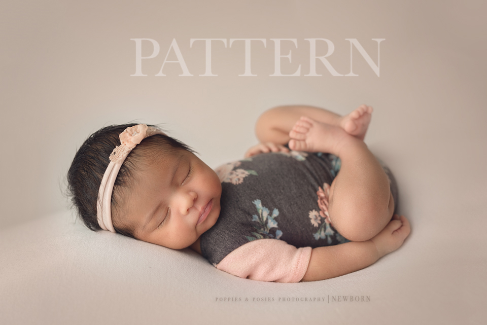 Newborn Romper Sewing Pattern
