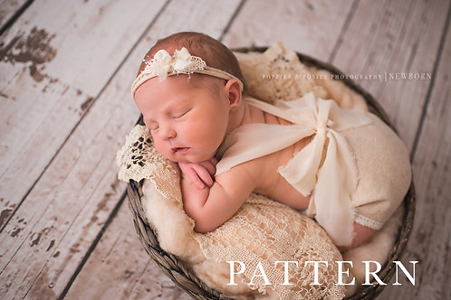 Newborn Photography Prop Sewing Pattern