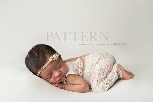 Newborn Photography Prop Sewing Pattern