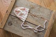 free newborn prop bonnet pattern