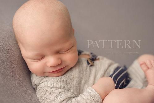 Newborn Hoodie Romper Sewing Pattern