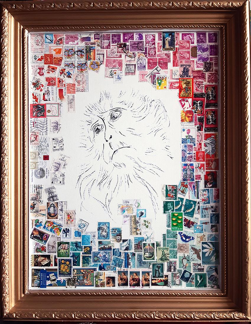Sheena 64 x 50 cm, 2020