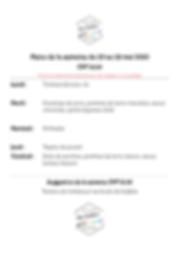 menu de la semaine du 25 mai au 29 mai-2