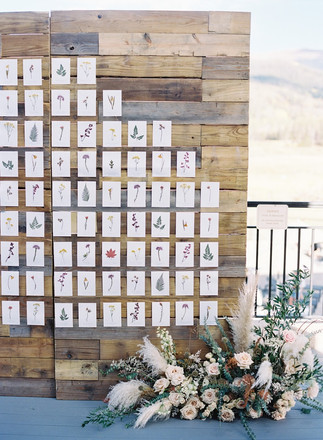 Pressed Flower Escort Board